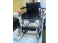 Wheelchair new.