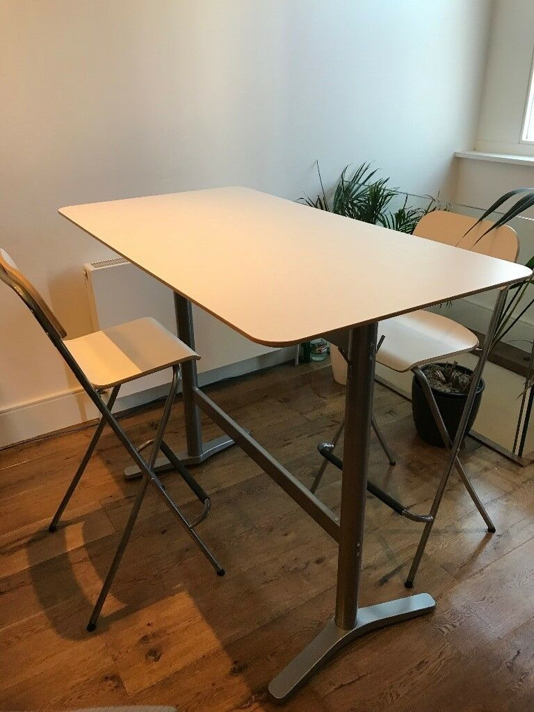 Sensational Ikea Franklin Bar Stool Chairs X2 Also Bar Table Dining Table White In Oval London Gumtree Spiritservingveterans Wood Chair Design Ideas Spiritservingveteransorg