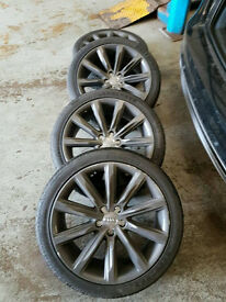 Audi 19 inch alloy wheels