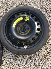 Vectra Signum spare wheel space saver