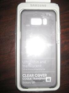 Samsung Galaxy S8 Plus Clear Back Cover Case. Protect Smart Phone. Camera. Slim Ultra Thin Translucent Design