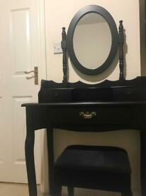 Dressing table - black for sale