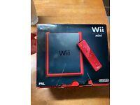 Nintendo Wii Mini in Red - Brand New