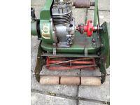 "Vintage Atco 12"" self propelled petrol mower, from 1964.working,"