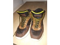 3 pairs of size 4 boys footwear