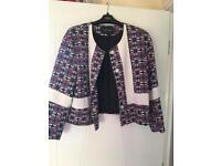 River Island Floral Blazer Jacket - Size 12!