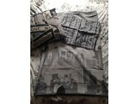 New York bedding single and cushion