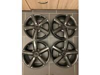 Alloy wheels. Audi Q7 alloys. Refurbished.