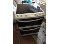 Zanussi Electric Cooker (White), ZCV66000WA