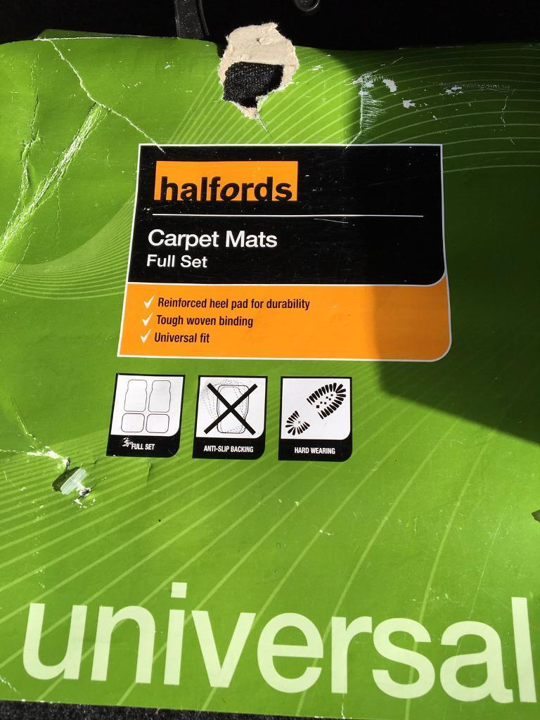 Halfords car mats