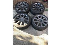 Audi rs4 alloy wheels