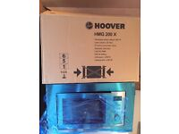 Hoover Intergrated Built in Microwave with Grill New and Unused