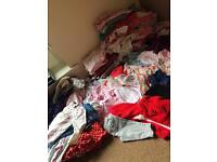 **massive bundle of baby girls clothes**
