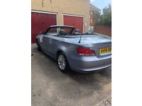 BMW 118 Convertible - low mileage for age