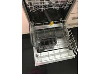 Integrated Beko dishwasher