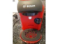 Red Bosh Tassimo Coffee Machine