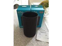 2 x Amazon Echo shell cover Alexa