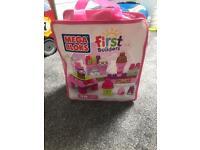 mega block first blocks cupcake edition!