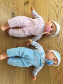 Tiny tears twins