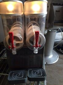 Slush Machine 2 Bowl UGOLINI ,10 Litre Bowls,Very Good Clean Working Condition 2 Available