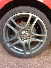Set of 4 Fiat Punto Sporting Alloys For Sale