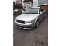 Audi A4 1.8 T Quattro sport (190bhp) 6 speed 4rd Two owner from new FSH HPI Clear *RARE*