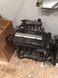 B16a2 Bare Engine on 101k Good Runner Civic EG EK EJ EM
