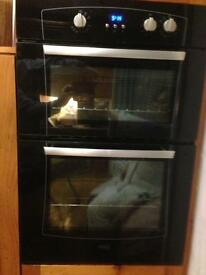 Built in double oven, (Belling)