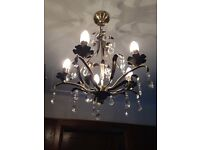 Three chandeliers - for sale as a matching set or individually - Belfast, Lisburn Road