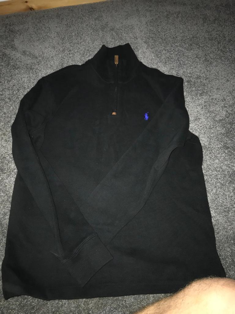 Small men's Ralph Lauren half zip/ pullover