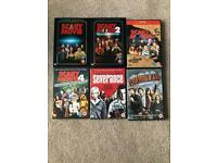 Horror/ Comedy DVD's Scary Movie 1-4 Severance Zombieland