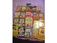 Horrible History, Science and geography books