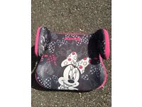 Free Minnie Mouse booster seat