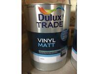 Deluxe Trade Vinyl Matt 5Litres White