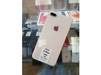 Apple iPhone 8 Plus 64gb Gold/Silver Unlocked with WARRANTY