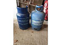Gas bottles 15kg and 12kg