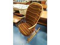 Ercol chair makers rocking chair