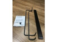IKEA HJÄLMAREN (Hjalmaren) Double Towel Rail/Rack - Black/Brown (60cm)