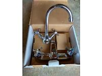 Chrome finish Basin Mixer and Bath Filler Tap set Brand New in the Box