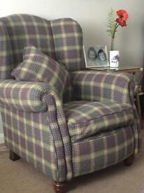 dfs Queen Anne Winged Armchair