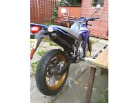 Selling for 650.good running motorbike.