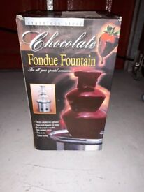 Chocolate Fountain Machine. New - Never Unboxed or used.
