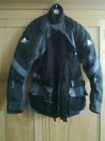 Motor bike jacket, Akito, size XS, excellent condition