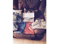 Men's Hugo boss track suits and stone island