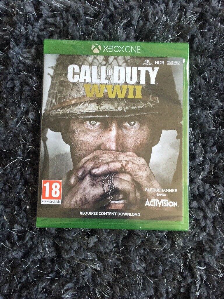 Call of duty ww2 Xbox one, brand new in package