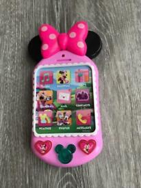 CHILDS MINNIE MOUSE MOBILE PHONE