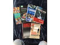 Criminology/psychology university textbooks