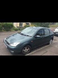 Ford Focus 1.6 Zetec for spares or repairs £250 ono