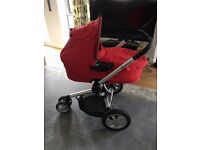 Quinny Buzz Travel System Carry Coat Pram Stroller Pushchair Immaculate BARGAIN