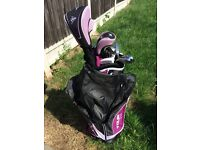 Dunlop tour set ladies golf clubs